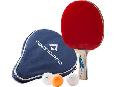 TECNOPRO Tischtennis-Set PRO 4000 Schwarz