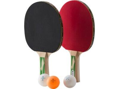 TECNOPRO Tischtennis-Set PRO 3000 Schwarz