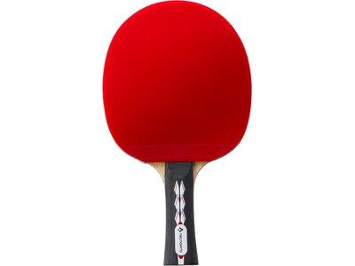 TECNOPRO Tischtennis-Schläger PRO 5000 PLUS Rot