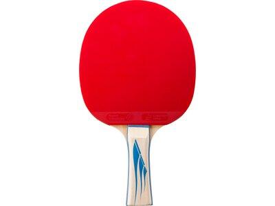TECNOPRO Tischtennis-Schläger PRO 4000 Schwarz