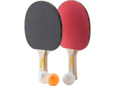 TECNOPRO Tischtennis-Set Player Set PRO 2000 Schwarz