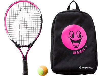 TECNOPRO Kinder Tennisschläger Bash 19 Schwarz