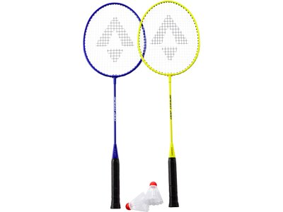 TECNOPRO Badmintonset Speed 200 Blau