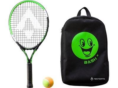 TECNOPRO Kinder Tennisschläger Bash 21 Schwarz