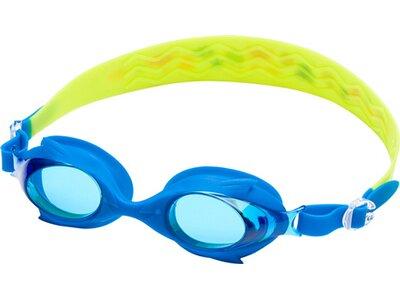 TECNOPRO Kinder Schwimmbrille SHARK PRO KIDS X Blau