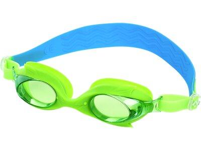 TECNOPRO Kinder Schwimmbrille SHARK PRO Grün