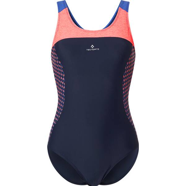 Bademode - TECNOPRO Damen Badeanzug Ruriana › Blau  - Onlineshop Intersport