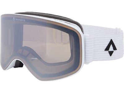 TECNOPRO Herren Ski-Brille Flyte Mirror Weiß