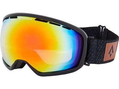 TECNOPRO Herren Ski-Brille Ten-Nine Revo Schwarz