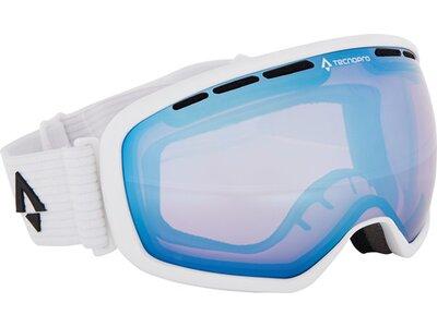 TECNOPRO Herren Ski-Brille Ten-Nine High-Contrast RE Weiß