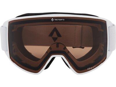 TECNOPRO Herren Ski-Brille Base 3.0 Weiß