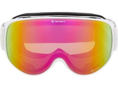 TECNOPRO Damen Ski-Brille Safine M Revo Weiß