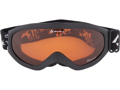 TECNOPRO Kinder Ski-Brille SNOWFOXY Schwarz