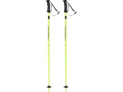 TECNOPRO Kinder Alpin-Skistock Rocket Gelb