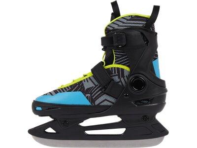 TECNOPRO Kinder Eishockeyschuhe Flash Adj. 3 Schwarz