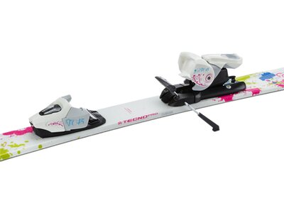 TECNOPRO Kinder All-Mountainski Set Sweety + Bdg. NTC45 Weiß