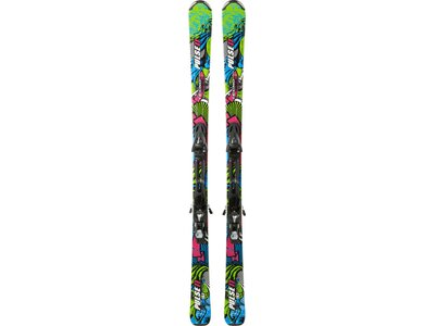 TECNOPRO Herren All-Mountainski Set Pulse 11 Lightrak + JTL 100 LT Grün