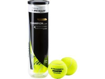 TECNOPRO Tennisbälle Champion Allcourt Gelb