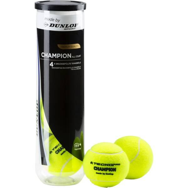 TECNOPRO Tennisbälle Champion Allcourt