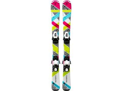 TECNOPRO Kinder Ski-Set Sweety Jr. NTC45/NTL75 Weiß