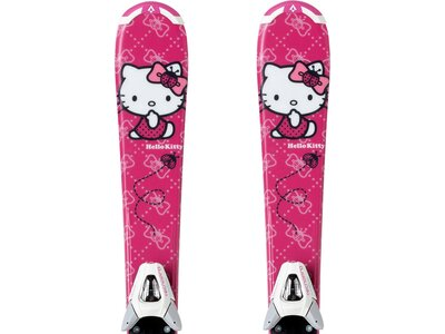 TECNOPRO Kinder All-Mountainski Set Hello Kitty Jr. + N TC45 J75 Pink