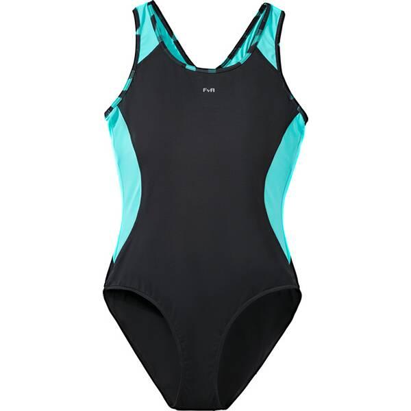 Bademode - TECNOPRO Damen Schwimmanzug Feli › Schwarz  - Onlineshop Intersport