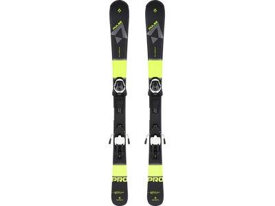 TECNOPRO Kinder All-Mountain Ski-Set Pulse Pro WF Schwarz