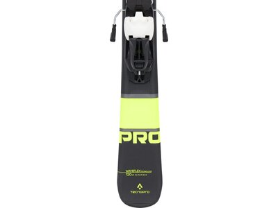 TECNOPRO Kinder All-Mountain Ski-Set Pulse Pro WF Schwarz