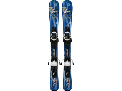 TECNOPRO Kinder All-Mountain Ski-Set Skitty ET Jr. + ETC45 J75 Blau