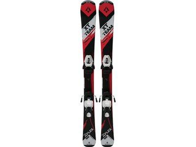TECNOPRO Kinder Skiset XT Team Schwarz