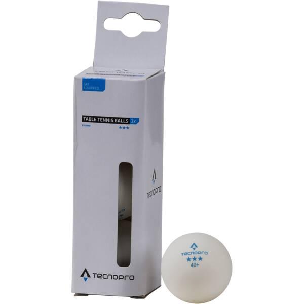 TECNOPRO Tischtennisball 3-Stern