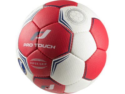PRO TOUCH Handball Super Grip rot Weiß