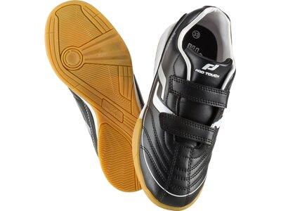 PRO TOUCH Herren Fussball-Hallenschuhe Fußb-Sch.Classic Velcro IN Jr Schwarz