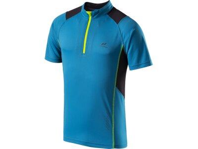 PRO TOUCH Herren T-Shirt Zip Russel Blau