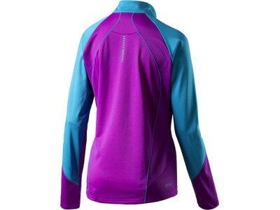 PRO TOUCH Damen D-T-Shirt 1/2-Zip lang Imanita Lila