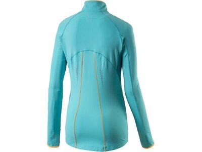 PRO TOUCH Damen D-T-Shirt lang Fleece Ruanna II Blau
