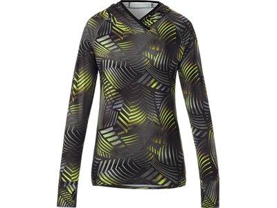 PRO TOUCH Damen T-Shirt lang Hooded Cala Schwarz