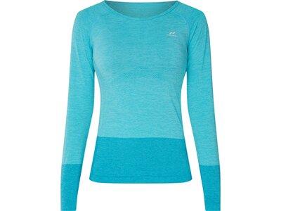 PRO TOUCH Damen T-Shirt lang Vibke Blau