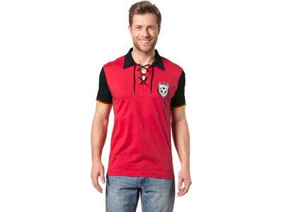 PRO TOUCH Herren Fanshirt Retro-Polo Deutschland WM 2014 Rot
