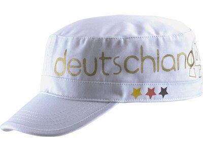 PRO TOUCH Damen Fan-Kopfbedeckung D-Army-Cap Deutschland Weiß