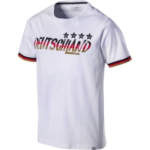 PRO TOUCH Herren Fanshirt Deutschland | Sportbekleidung > Sportshirts > Fanshirts | Weiß - Schwarz - Rot - Gold | PRO TOUCH
