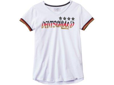 PRO TOUCH Damen Fanshirt Deutschland Weiß