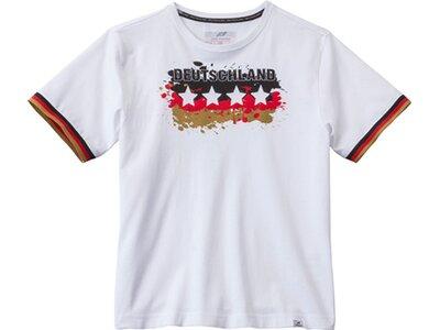 PRO TOUCH Kinder Fanshirt Deutschland Weiß