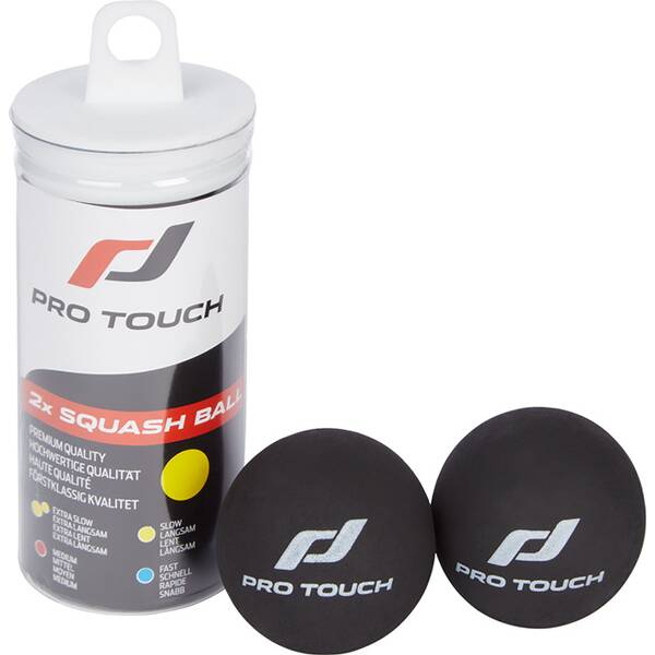 PRO TOUCH Ball Squashball ACE, 2er Dose