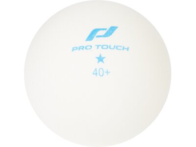 PRO TOUCH TT-Ball PRO 1 star x6 Weiß