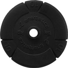 ENERGETICS Hantelscheibe Guss 10kg-15kg-20kg
