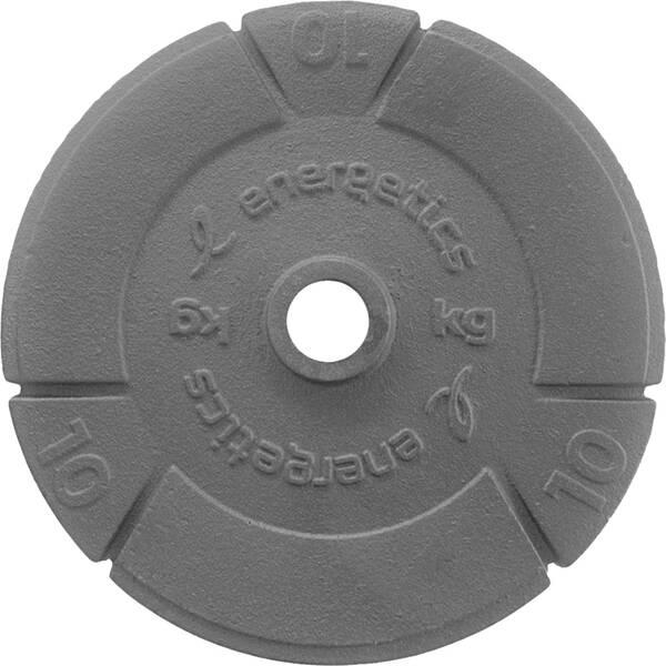 ENERGETICS Hantelscheiben Guss 10kg/15kg/20kg