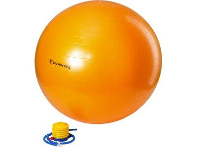 ENERGETICS Gymnastikball mit Pumpe Orange