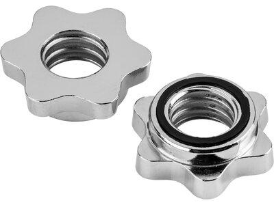 ENERGETICS Hantel-Stellringe 30 mm Silber