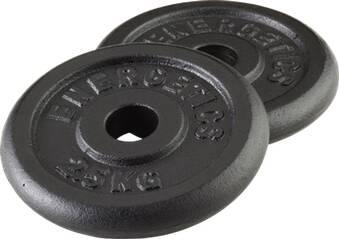ENERGETICS Hantelscheibe Guss Paar 1,25 kg - 2,5 kg